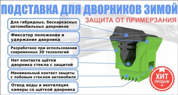 Защитная подставка для дворников автомобиля 3DLV-3600