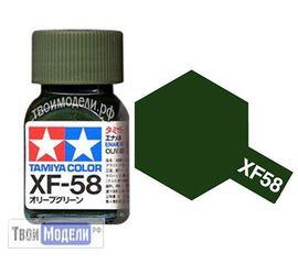 Необходимое для моделей Tamiya 80358 XF-58 Оливковый Зеленый #Краска-эмаль tm00535 купить в твоимодели.рф