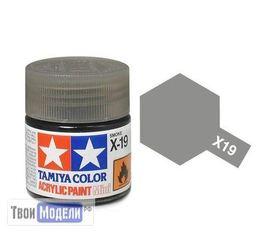 Необходимое для моделей Tamiya 81519 X-19 Дымчатая (Smoke) #Краска-acrylic tm00492 купить в твоимодели.рф
