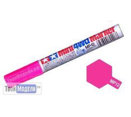 Необходимое для моделей Tamiya 89212 МР-12 Розовый Маркер флюоресцентный # Краска эмалевая 10мл. tm00555 купить в твоимодели.рф