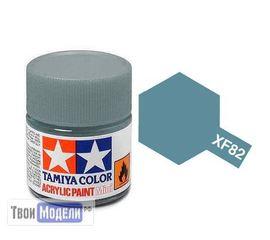 Необходимое для моделей Tamiya 81782 XF-82 Серая морская 2 RAF (Ocean Gray 2 RAF) #Краска-acrylic tm00477 купить в твоимодели.рф