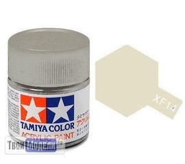 Необходимое для моделей Tamiya 81714 XF-14 Японская авиационная (J. A. Grey) #Краска-acrylic tm00415 купить в твоимодели.рф
