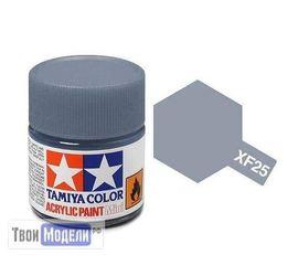 Необходимое для моделей Tamiya 81725 XF-25 Светло-серая морская (Light Sea Grey) #Краска-acrylic tm00434 купить в твоимодели.рф