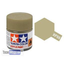 Необходимое для моделей Tamiya 81755 Xf-55 Палубная (палубнаяDeck Tan) () #Краска-acrylic tm00408 купить в твоимодели.рф