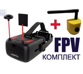 RC Гараж  ТМ-8231 Комплект FPV видеокамера + очки, дальностью до 600 метров. tm08231 купить в твоимодели.рф