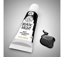 Необходимое для моделей Wilder HDF-LS-01 Черная ночь Масленая быстросохнущая матовая краска tm08675 купить в твоимодели.рф