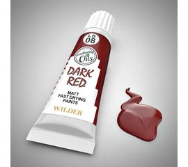 Необходимое для моделей Wilder HDF-LS-08 Красный с черна Масленая быстросохнущая матовая краска tm08676 купить в твоимодели.рф