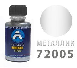 Необходимое для моделей A-Model 72005 Сталь - металлик #Краска 20мл. (А) tm09303 купить в твоимодели.рф