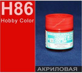 Необходимое для моделей Hobby Color H86 Красный Крапп # Краска акриловая tm01194 купить в твоимодели.рф