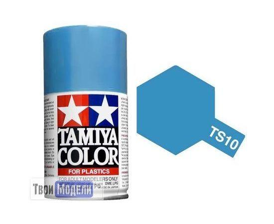 Необходимое для моделей Tamiya 85010 Ts-10 French Голубая - краска спрей в баллончиках 100 мл. tm00728 купить в твоимодели.рф