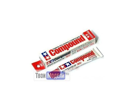 Необходимое для моделей Tamiya 87068 Шлифовальная паста Coarse tm00594 купить в твоимодели.рф