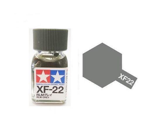 Необходимое для моделей Tamiya 81722 XF-22 Rlm Grey RLM серая (RLM Grey) #Краска-acrylic tm00430 купить в твоимодели.рф