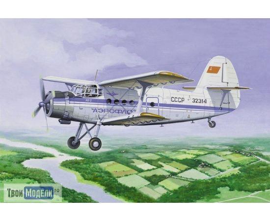 Склеиваемые модели  ЕЕ14443 Ан-2 Многоцелевой самолет Аэрофлот СССР 1:144 tm00316 купить в твоимодели.рф