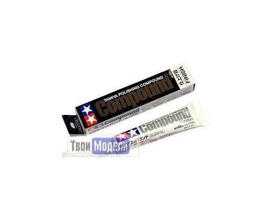 Необходимое для моделей Tamiya 87070 Шлифовальная паста Finish tm00603 купить в твоимодели.рф
