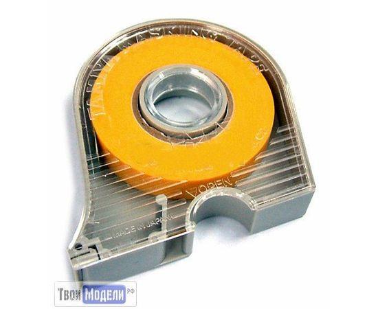 Оборудование для творчества Tamiya 87032 Маскирующая лента 18 мм в пенале tm00682 купить в твоимодели.рф