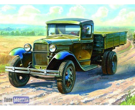 Склеиваемые модели  zvezda 3602 Звезда Грузовик ГАЗ-АА «Полуторка» tm00755 купить в твоимодели.рф