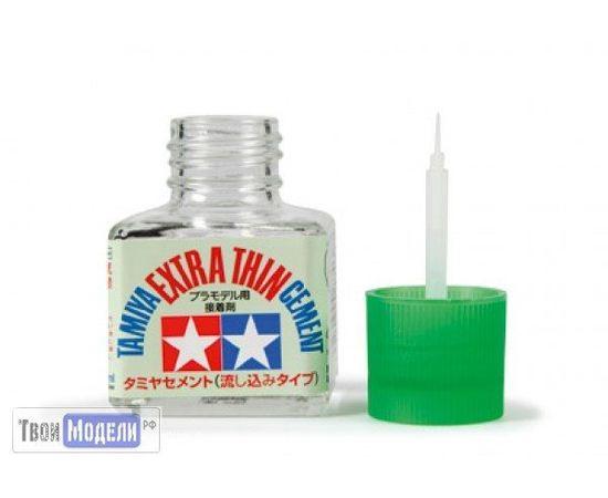 Необходимое для моделей Tamiya 87038 Супер жидкий клей с кисточкой tm00633 купить в твоимодели.рф