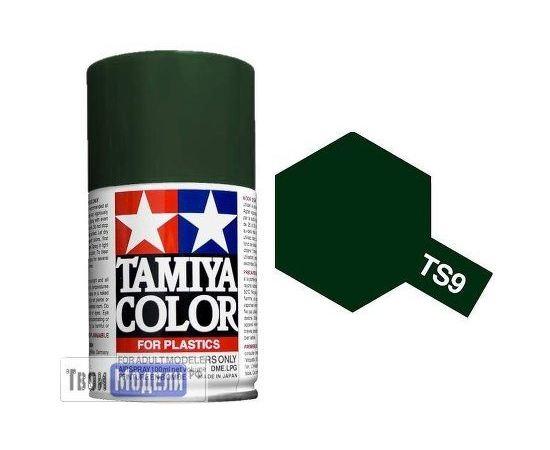 Необходимое для моделей Tamiya 85009 TS-9 Британский Зелёный - краска спрей в баллончиках 100 мл.  tm00550 купить в твоимодели.рф