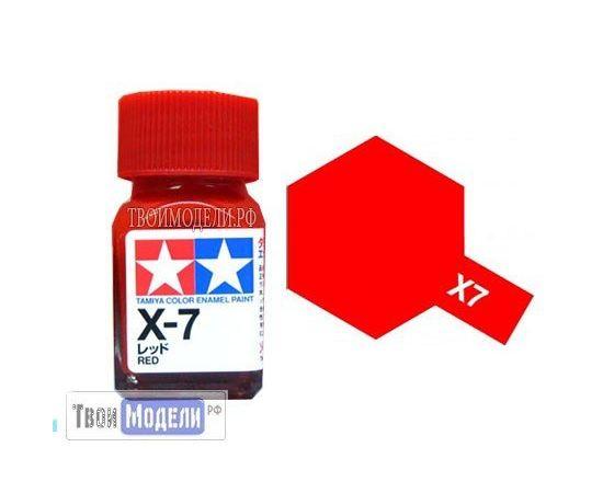 Необходимое для моделей Tamiya 80007 X-7 Красный #Краска-эмаль tm00722 купить в твоимодели.рф