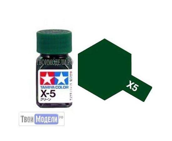 Необходимое для моделей Tamiya 80005 X-5 Зелёная #Краска-эмаль tm00514 купить в твоимодели.рф