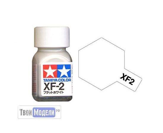 Необходимое для моделей Tamiya 80302 XF-2 Белый Матовый #Краска-эмаль tm00527 купить в твоимодели.рф
