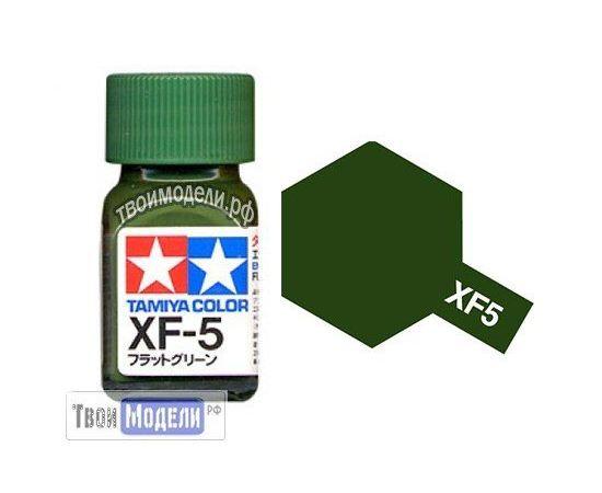 Необходимое для моделей Tamiya 80305 XF-5 Зелёный #Краска-эмаль tm00694 купить в твоимодели.рф
