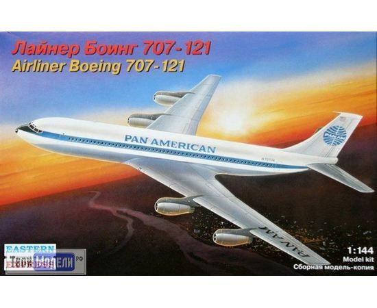 Склеиваемые модели  ЕЕ14401 Боинг 707-121 - Лайнер tm00313 купить в твоимодели.рф