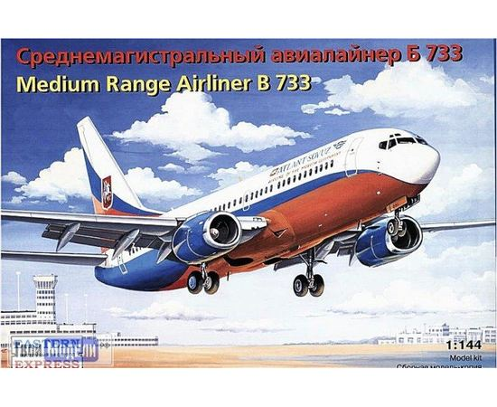 Склеиваемые модели  ЕЕ14423 B-733 Авиалайнер АТЛАНТ-СОЮЗ 1:144 tm00390 купить в твоимодели.рф
