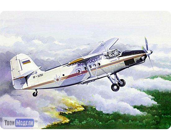 Склеиваемые модели  ЕЕ14444 Ан-3 МЧС Многоцелевой самолет 1:144 tm00374 купить в твоимодели.рф