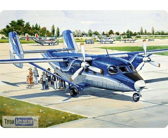 Склеиваемые модели  ЕЕ14436 Ан-28 Регион-Авиа Пассажирский самолет 1:144 tm00395 купить в твоимодели.рф