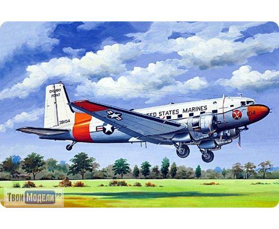 Склеиваемые модели  ЕЕ14478 Douglas R4D-8/C-117D Самолет 1:144 tm00381 купить в твоимодели.рф