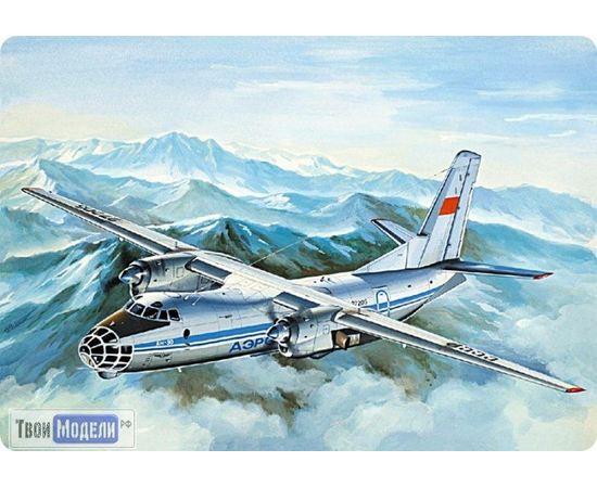 Склеиваемые модели  ЕЕ14472 Ан-30Б Самолет воздушного наблюдения 1:144 tm00376 купить в твоимодели.рф