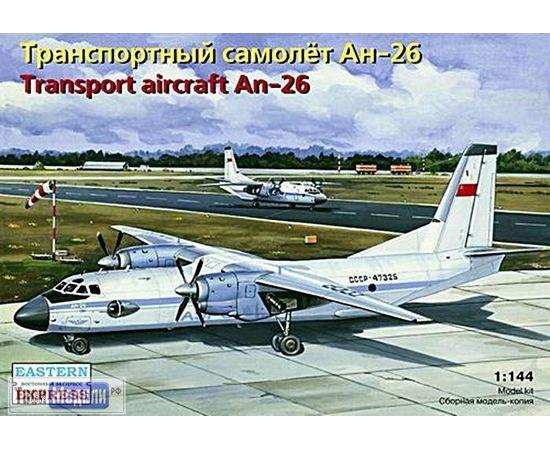 Склеиваемые модели  ЕЕ14482 Ан-26 Транспортный самолет 1:144 tm00378 купить в твоимодели.рф