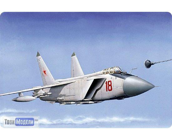 Склеиваемые модели  ЕЕ72115 МИГ-31 Б Самолет Перехватчик 1:72 tm00399 купить в твоимодели.рф