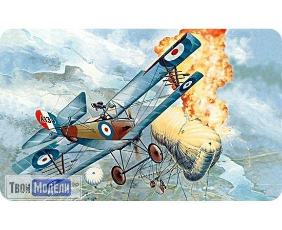Склеиваемые модели  ЕЕ72162 Nieuport 16с Самолет Истребитель WWI 1:72 tm00401 купить в твоимодели.рф
