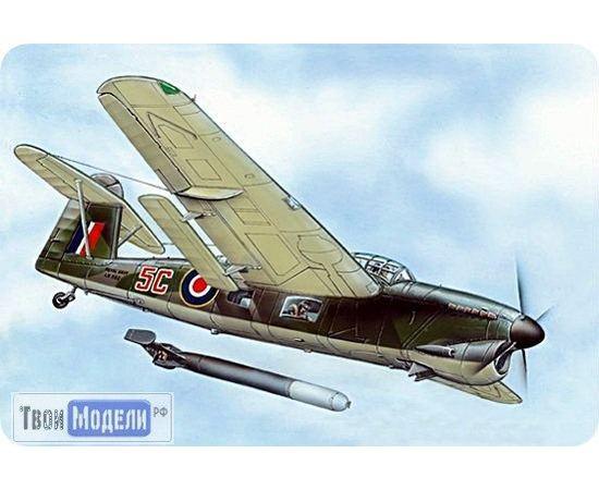 Склеиваемые модели  ЕЕ72254 Barracuda Mk IV Барракуда Самолет 1:72. tm00363 купить в твоимодели.рф