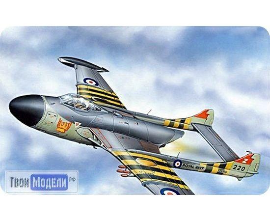 Склеиваемые модели  ЕЕ72225 de Havilland D.H.112 Sea Venom  Палубный истребитель 1:72 tm00384 купить в твоимодели.рф