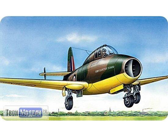 Склеиваемые модели  ЕЕ72259 Gloster Pionier Реактивный самолет 1:172 tm00396 купить в твоимодели.рф