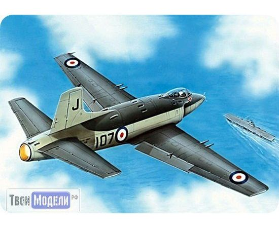 Склеиваемые модели  ЕЕ72276 Supermarine Attacker Палубный истребитель 1:72 tm00385 купить в твоимодели.рф