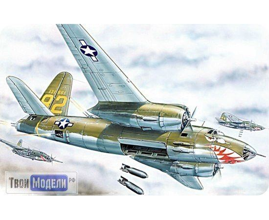 Склеиваемые модели  ЕЕ72277 B-26 Marauder Бомбардировщик 1:72 Сборная модель tm00366 купить в твоимодели.рф