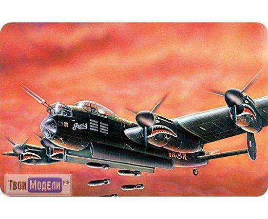 Склеиваемые модели  ЕЕ96004 Avro Lancaster MK.I Бомбардировщика 1:96 tm00367 купить в твоимодели.рф