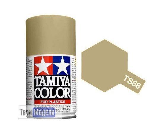 Необходимое для моделей Tamiya 85068 TS-68 Коричневая палуба - краска спрей в баллончиках 100 мл.  tm00538 купить в твоимодели.рф