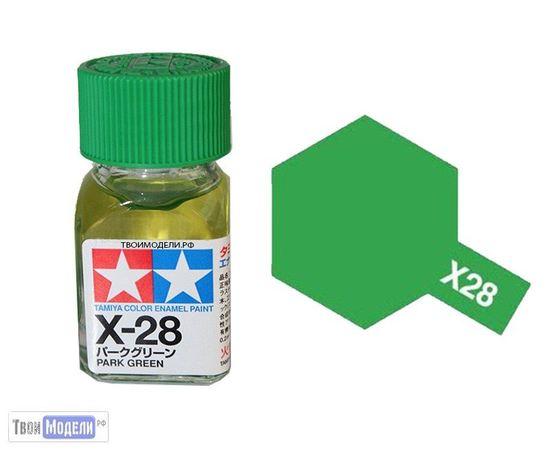 Необходимое для моделей Tamiya 80028 X-28 Травянистый Зелёный #Краска-эмаль tm00691 купить в твоимодели.рф