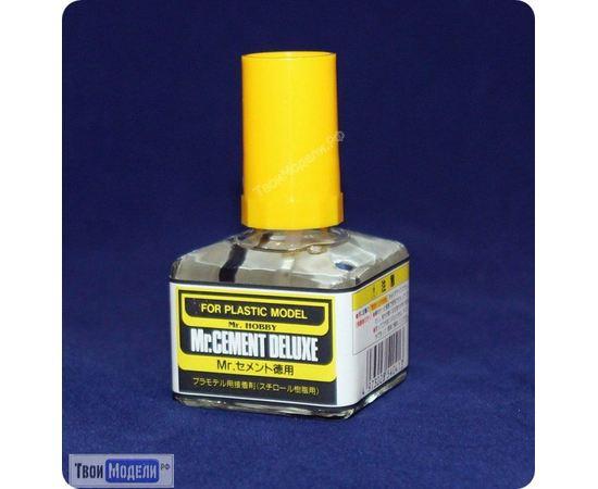 Необходимое для моделей Mr.Hobby MC-127 Клей для пластика с кисточкой Mr.Cement tm00648 купить в твоимодели.рф