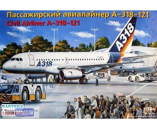 Склеиваемые модели  ЕЕ14441 А-318 121 Авиалайнер  1:144 tm00386 купить в твоимодели.рф