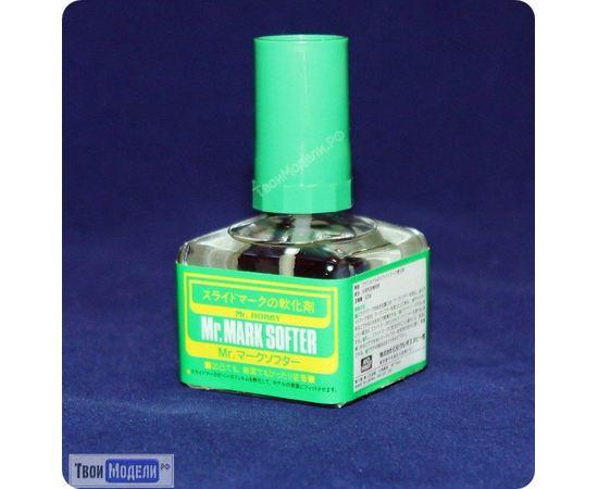 Необходимое для моделей Mr.Hobby MS-231 Раствор для декалей Mr.Mark Softer tm00605 купить в твоимодели.рф