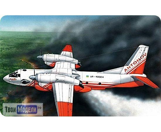 Склеиваемые модели  ЕЕ28804 Ан-32П Пожарный самолет 1:288 tm00377 купить в твоимодели.рф