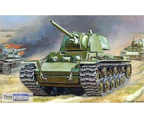 Склеиваемые модели  zvezda 3539 Звезда КВ-1 Тяжелый советский танк КВ-1 tm00750 купить в твоимодели.рф