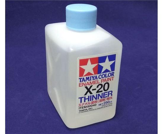 Необходимое для моделей Tamiya 80040 X-20 Растворитель для эмали tm00585 купить в твоимодели.рф