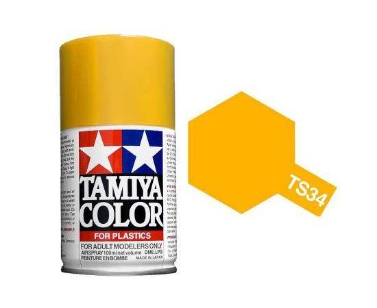 Необходимое для моделей Tamiya 86019 PS-19 Пустынный желтый - краска спрей в баллончиках 100 мл.  tm00764 купить в твоимодели.рф